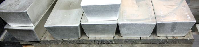 1000 oz Silver Good Deliver Wholesale Bars